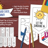 Free Download! Be of Good Cheer Banner
