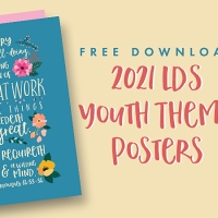 2021 LDS Youth Theme Posters: A Great Work (D&C 66:33-34) [Free Printable Handouts]