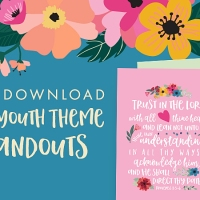 2022 LDS Youth Theme Posters: Trust in the Lord [Free Printable Handouts]